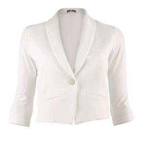 Miik Cropped Soft Blazer